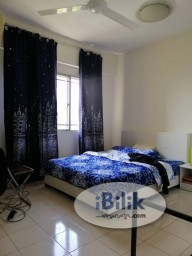 Room Rental in Kuala Lumpur - [3 Mins Walk to MRT!!!] Newly Renovated with Air Con Master Room at Segar View, Cheras