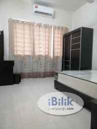 Room Rental in Petaling Jaya - Newly Renovated with Air Con Middle Room at SuriaMas, Bandar Sunway