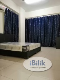 Room Rental in Selangor - Newly Renovated with Air Con Middle Room at Park 51 Residency, Petaling Jaya