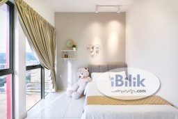 Room Rental in Malaysia - comfy ANNEX MIDDLE ROOM 1 Month Depo!