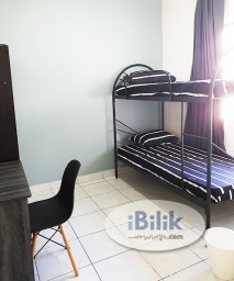 Room Rental in Malaysia - Fully Furnished Middle Room Rent in Hillpark The Palm, Bandar Puncak Alam
