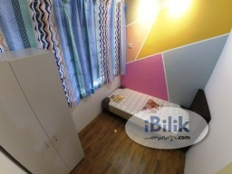 Room Rental in Selangor - (MCO free rental) 5min walk to LRT and IOI mall (short term welcome)