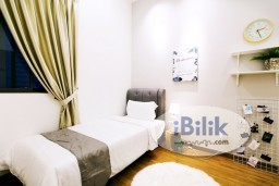 Room Rental in Malaysia - intimate THE ANNEX Single Room 1 Month Deposit!