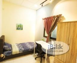 Room Rental in Malaysia - cushy Single Bedroom at Bandarhilir, Near Melaka raya,General Hospital,kota laksamana, Semabok