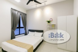 Room Rental in Malaysia - cushy DSARA Middle Room 1 Month Depo! MRT Kampung Selamat