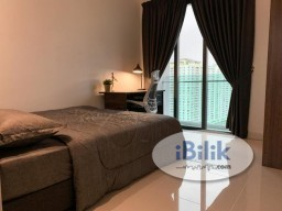 Room Rental in Kuala Lumpur - Cozy Setapak Big Middle Room with Great View Fully Furnished