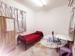 Room Rental in Selangor - Fully furnished Single room walking distance to Sunway Pyramid