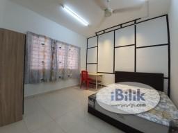 Room Rental in Petaling Jaya - comfy (Short term allowed) Medium room in Suriamas Condominium at Jalan PJS 10, bandar sunway (new room)