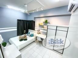 Room Rental in Kuala Lumpur - FULLY FURNISHED AIRCOM MEDIUM ROOM