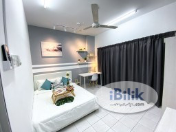 Room Rental in Kuala Lumpur - PRETTY FULLY FURNISHED AIRCON QUEEN ROOM