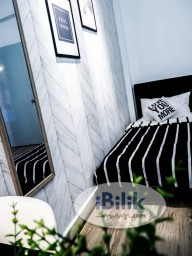 Room Rental in Kuala Lumpur - FREE 1 MONTH RENTAL! Single Room at Prima Setapak I, Setapak! Fully Renovated!! Free 100mbps WIFI, Utilities Fee & Cleaning Service!