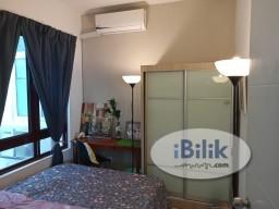 Room Rental in Kuala Lumpur - Middle Room at Rafflesia Sentul Condominium, 300meters walking distance to LRT Sentul Timur