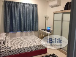 Room Rental in Kuala Lumpur - Master Room at Rafflesia Sentul Condominium, 300meters to LRT Sentul Timur, for Female Only