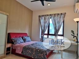 Room Rental in Kuala Lumpur - Master Room at Rafflesia Sentul Condominium, 300meters walking distance to LRT Sentul Timur