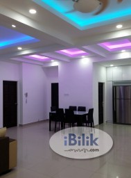 Room Rental in Penang - Master Bedroom at i-Regency Condominium For Rent (Fully Furnished!!!)