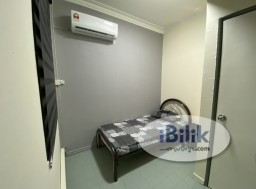 Room Rental in Kuala Lumpur - Fully Furnished Small Room @ Bukit OUG Condominium (Unifi & Air Cond)