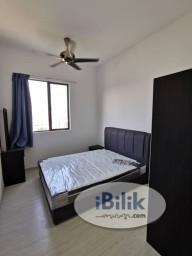 Room Rental in Setapak - F/F Walking Distance to LRT - Hamilton Middle room include All
