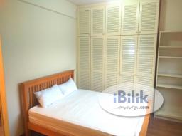 Room Rental in Kuala Lumpur - ⛳[Golf View] Master Room - Femalle Unit - 5 mins walk to LRT - Fully Furnished