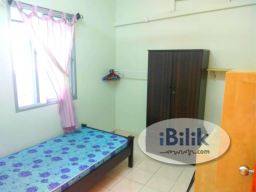 Room Rental in Kuala Lumpur - 🎁[All Included] - Femalle Only - 5 mins walk to LRT - Fully Furnished Single Room