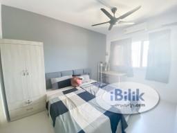Room Rental in Setapak - [3MIN WALK TO LRT BY LINK BRIDGE] Master room with private bathroom for female at Wangsa Maju. Near Sentul/ Setiawangsa/ Gombak/ KLCC/ Ampang