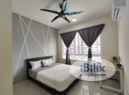 Room Rental in Kuala Lumpur - PV21 Master room. Fully furnished with aircond