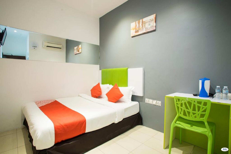 HOTEL ROOM JALAN ALOR, BUKIT BINTANG (FREE WIFI)