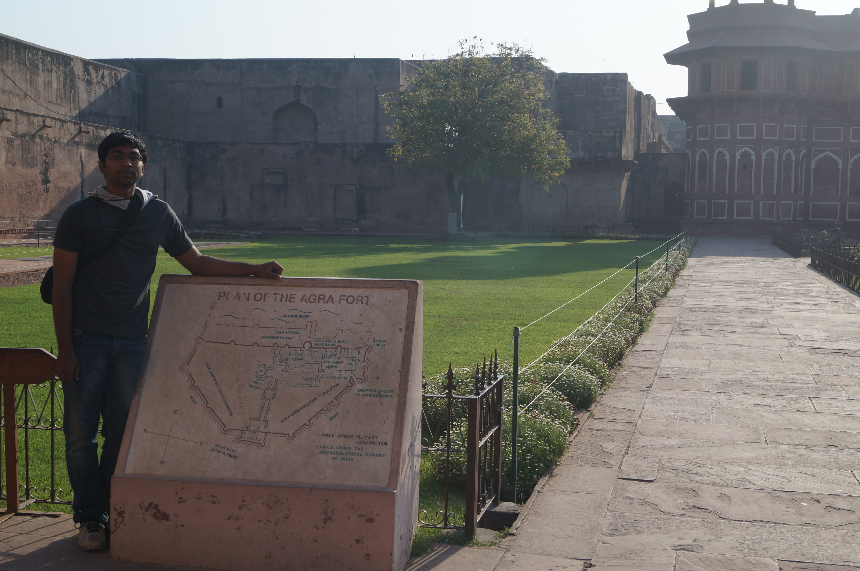 Agra Fort - India prasun bheri