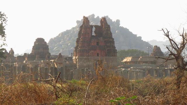 Royal Red City - Group of Monuments at Hampi - India Vidya Charan