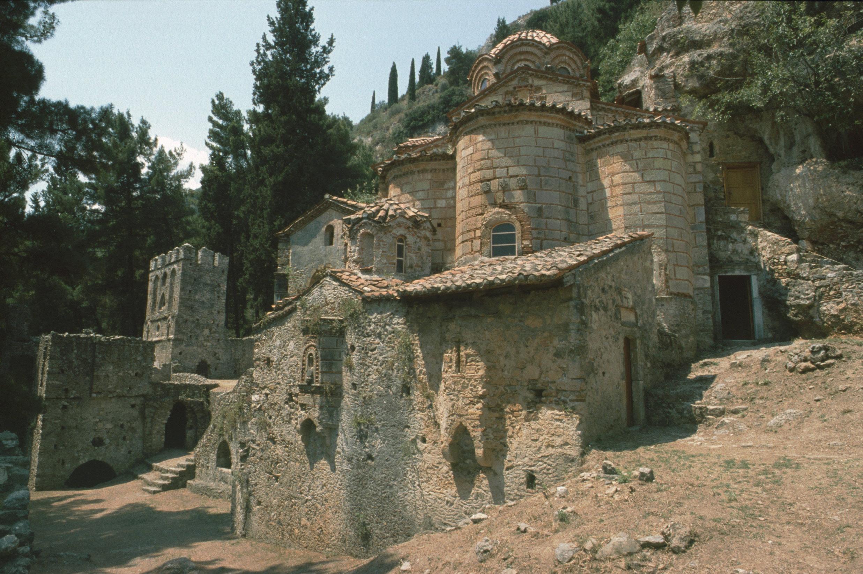 Archaeological Site of Mystras jakob klingert