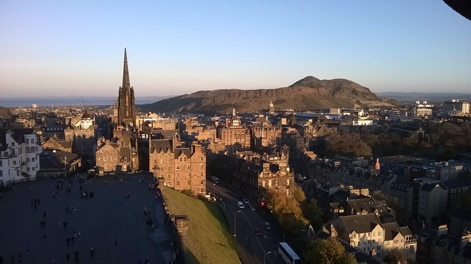 Edinburgh, view from the Castle by Giulia Falovo
