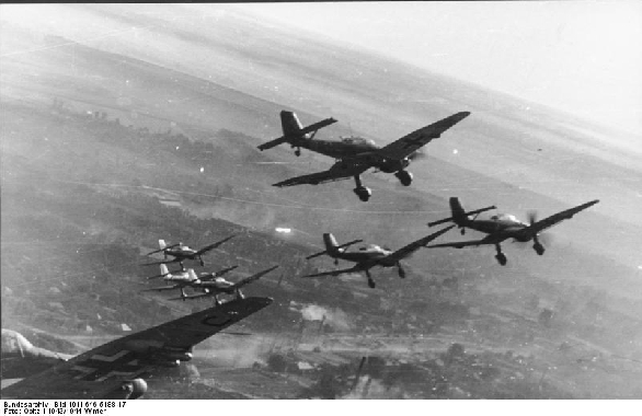 Bombers of the WWII