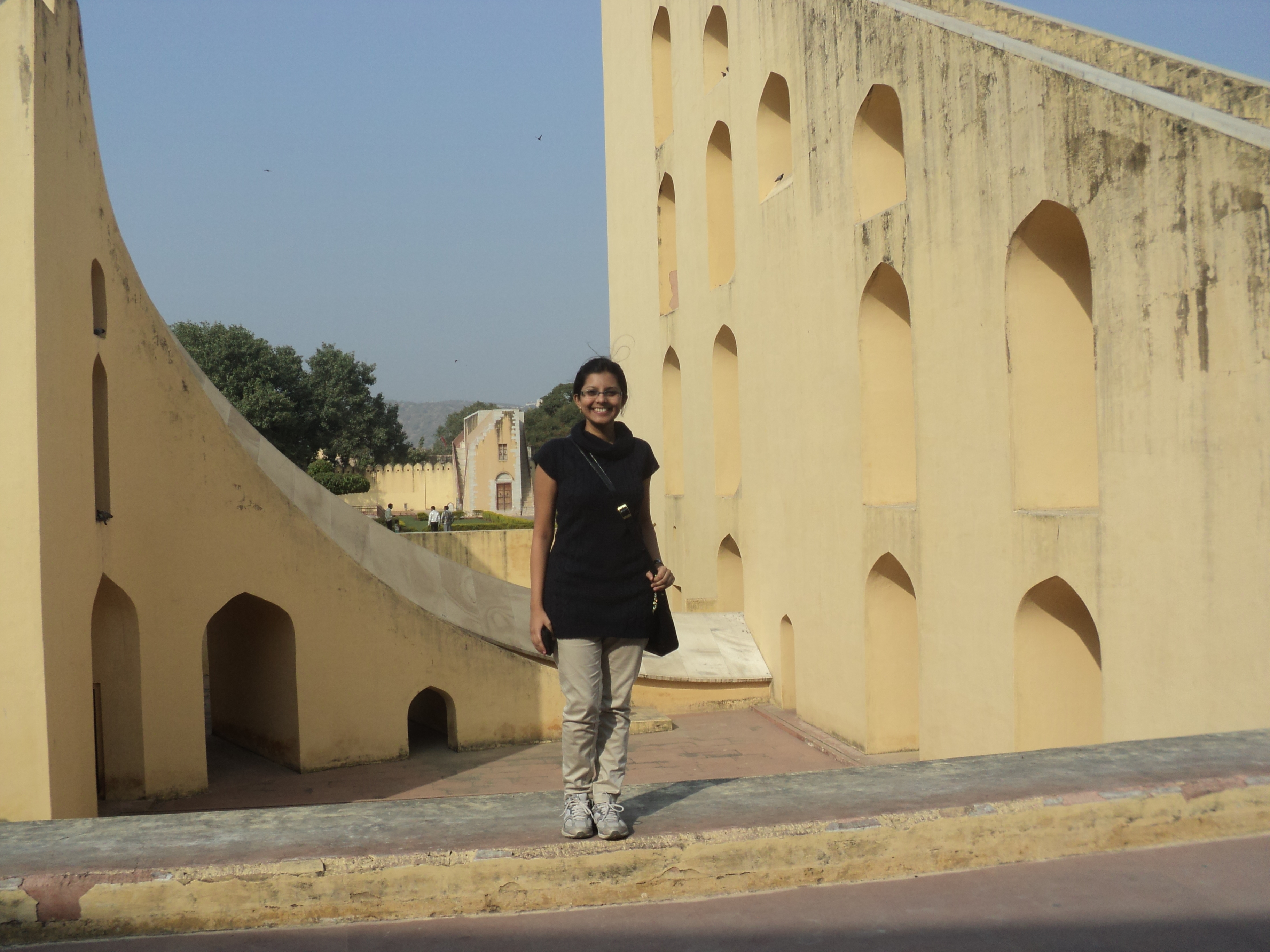 The giant timekeeper in Jaipur The Jantar Mantar, Jaipur - India Oindrila De