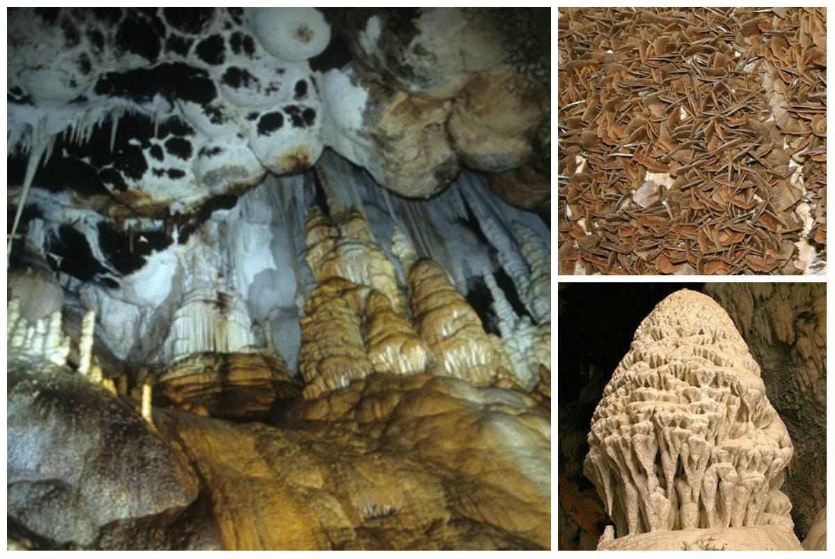 The cave of Santa Barbara (photo sources: sardegnadigitallibrary.it - igeaspa.it )