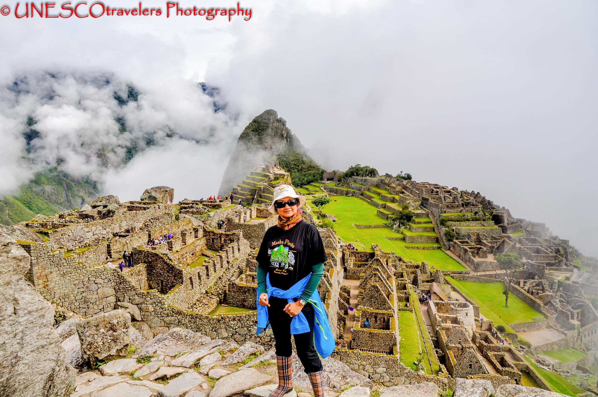 The Incredible Machu Picchu @ Peru Historic Sanctuary of Machu Picchu - Peru By UNESCOtravelers