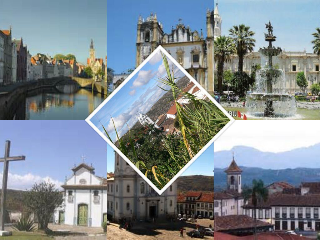 Historic Centre of the Town of Diamantina - Picture Collage