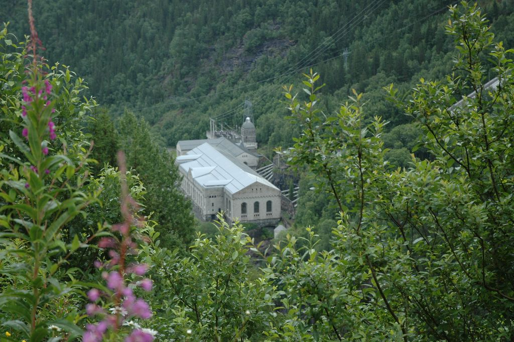 Rjukan - industry and site of famous World War II sabotage