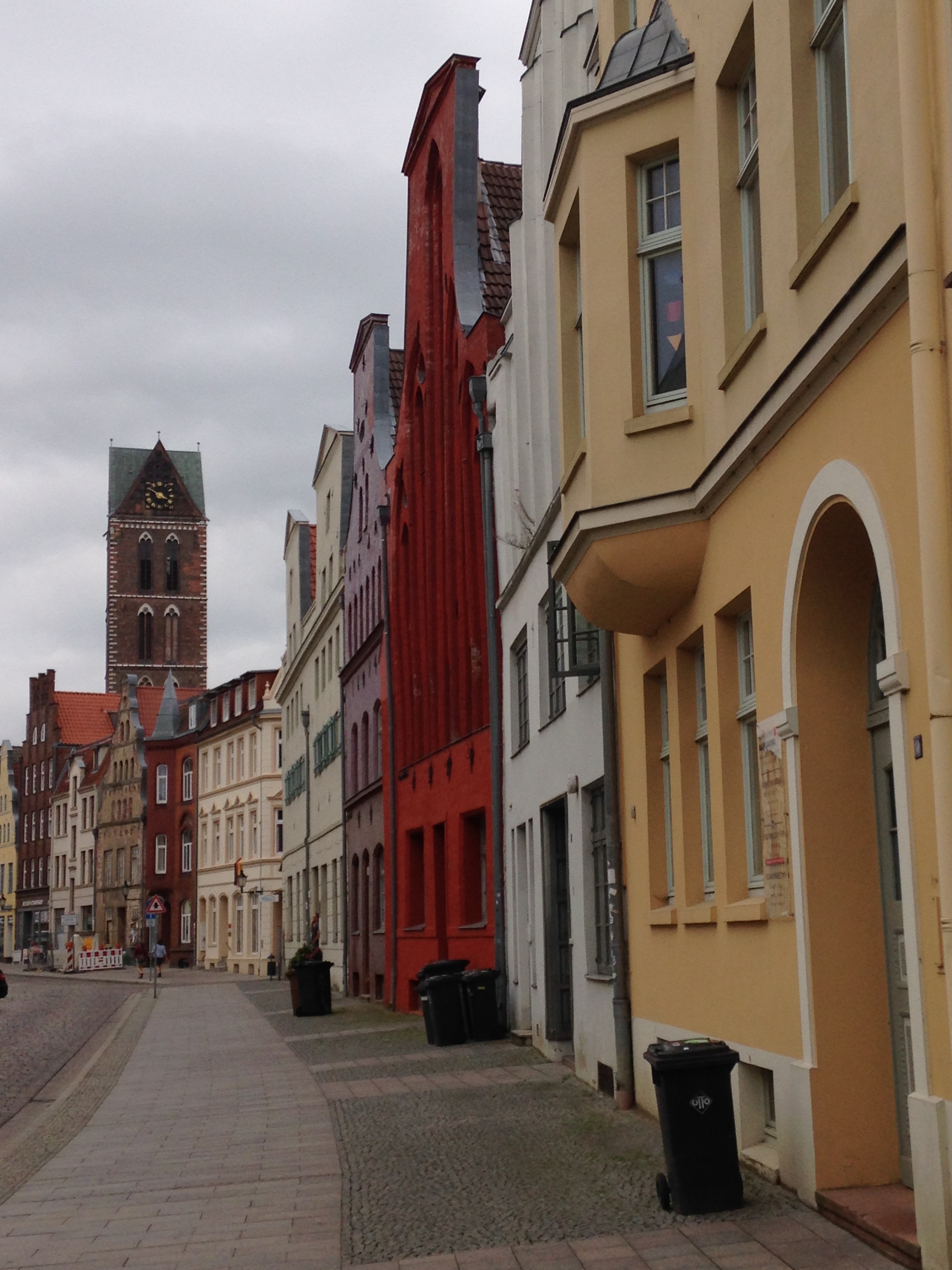 The old town of Wismar
