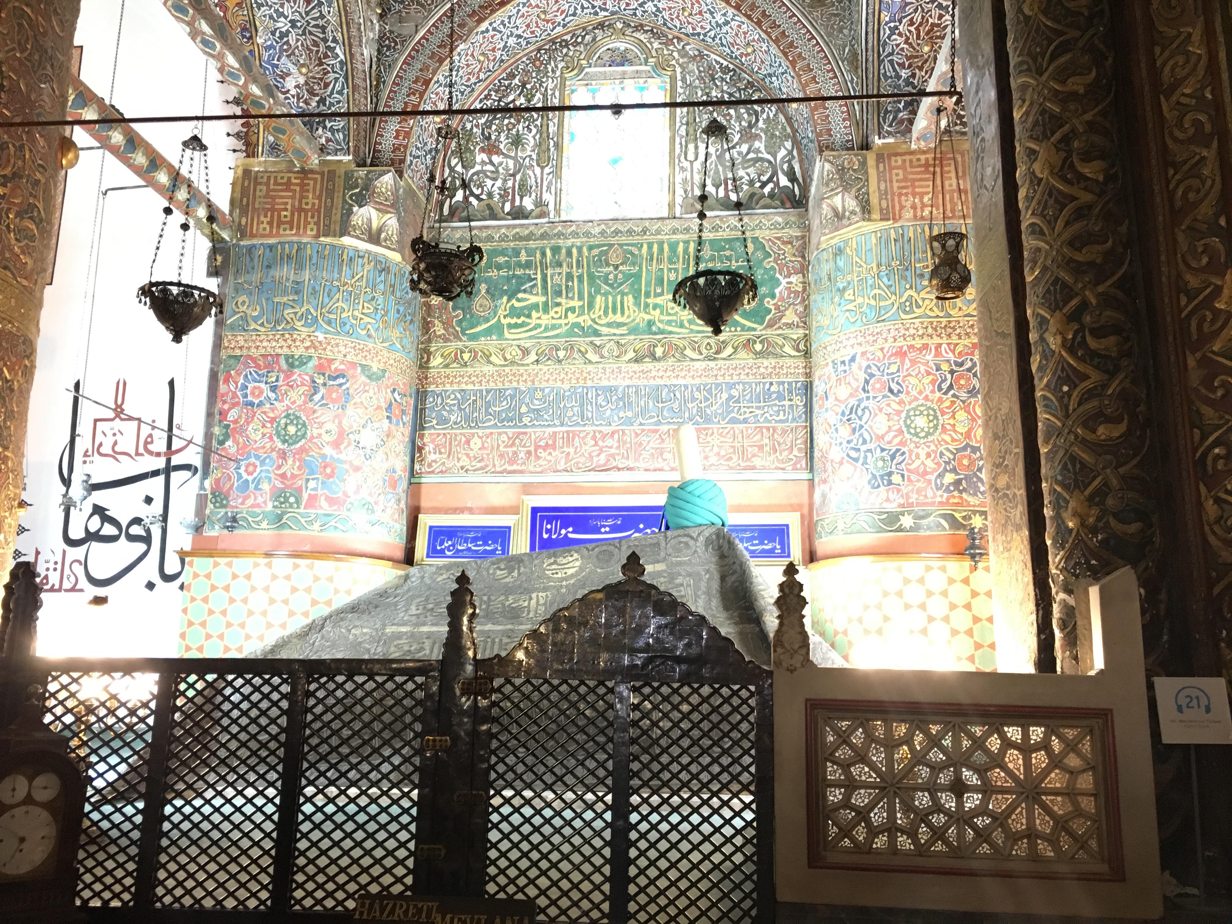 Mevlana Jallaluddin Balkhi Romi's tomb