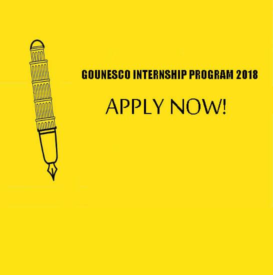 GOUNESCO-Internship-Program-2018