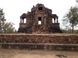 Temple Ruins inside the fort