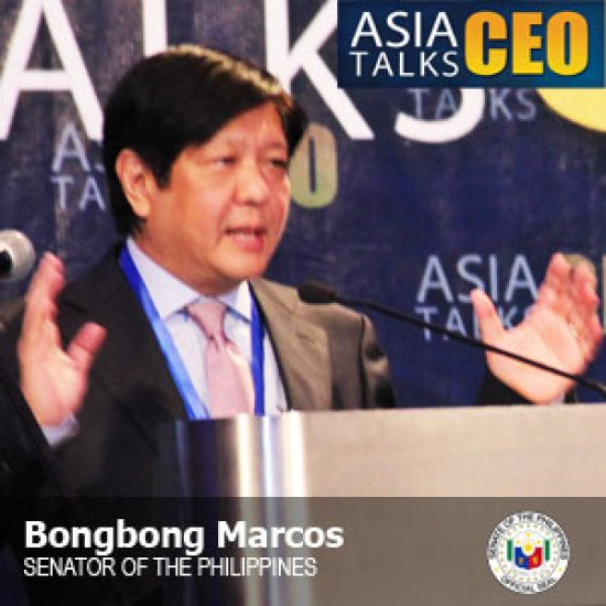 Bongbong Marcos at Asia CEO Forum