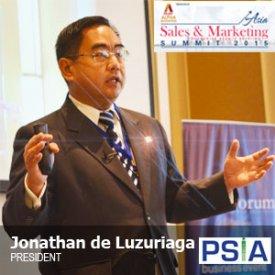 Jonathan de Luzuriaga – Asia Sales Marketing Summit