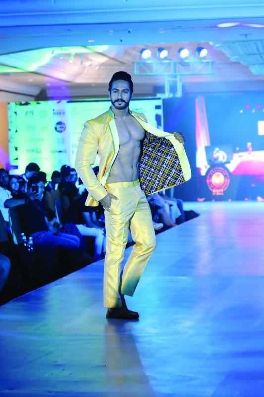 Outfit designed by Rashmi Solanki