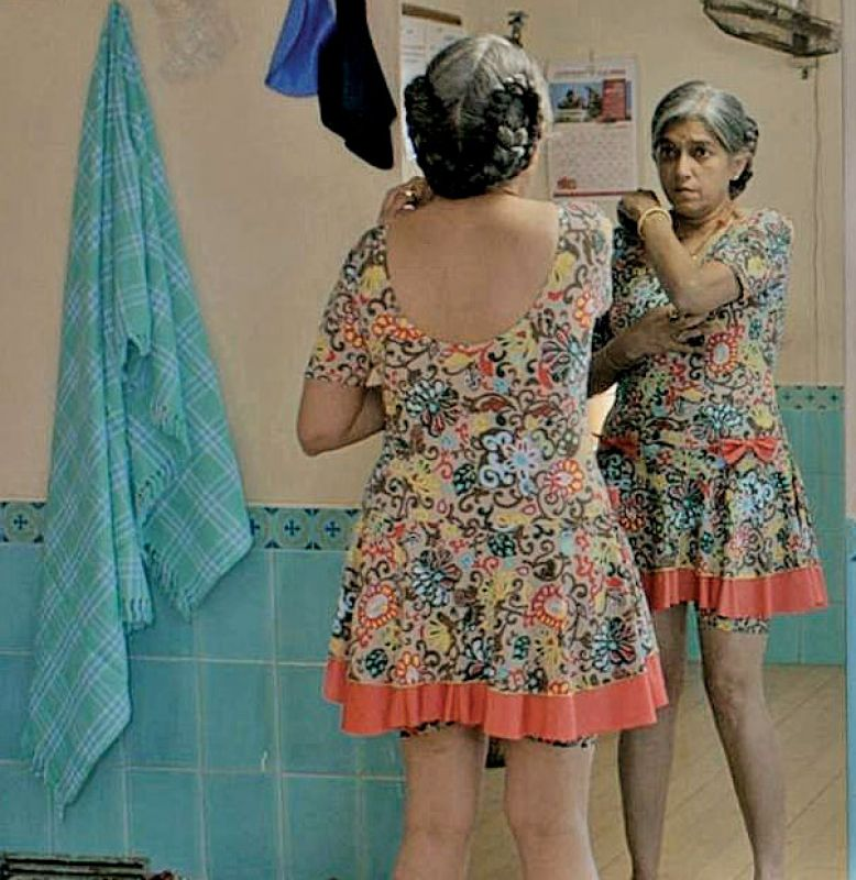 Ratna Pathak Shah was jeered at for wearing a swim suit and reading adult romances.