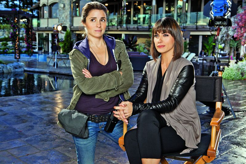 Shiri Appleby and Zimmer from UnReal