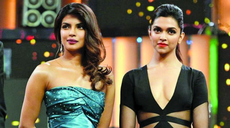 Priyanka Chopra and Deepika Padukone