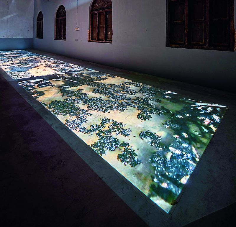 Exploratory: A video installation by artist Vivian Sundaram