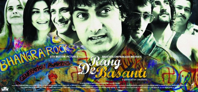 Rang De Basanti (2006) is one of Rakeysh's critically acclaimed films.