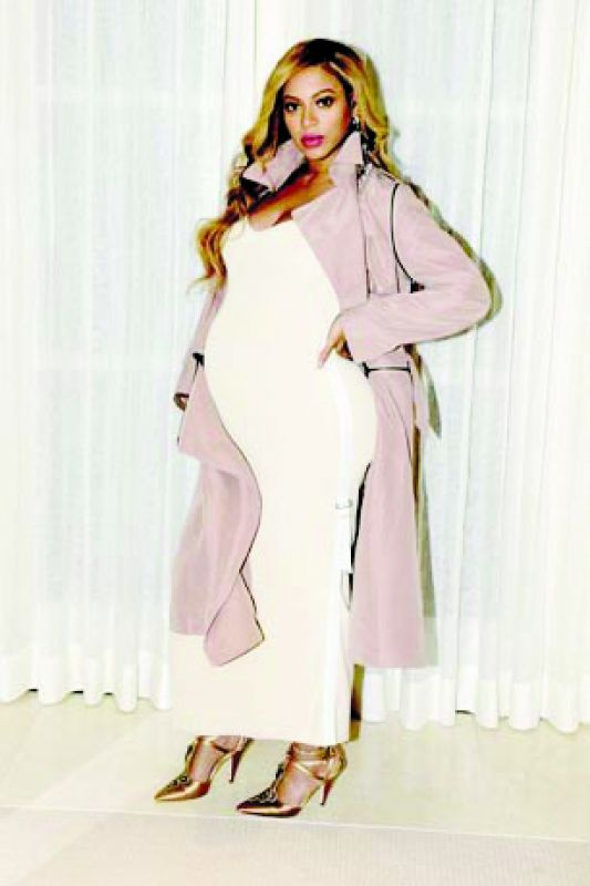 Beyonce picked styles to embrace her curves while pregnant with twins.