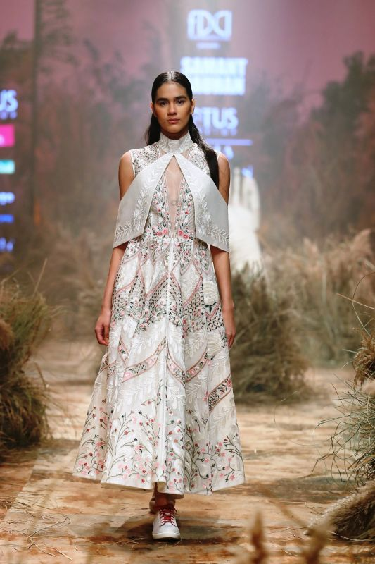 The collection captured the myriad hues of her existence. (Photo: FDCI)